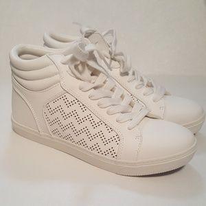 NWT- White Hightop Sneakers